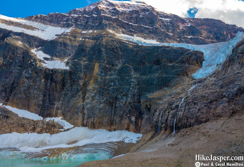 Hike Jasper - Edith Cavell Meadows, Mountain, Angel Glacier, Cavell Glacier and Kettle Lake 2