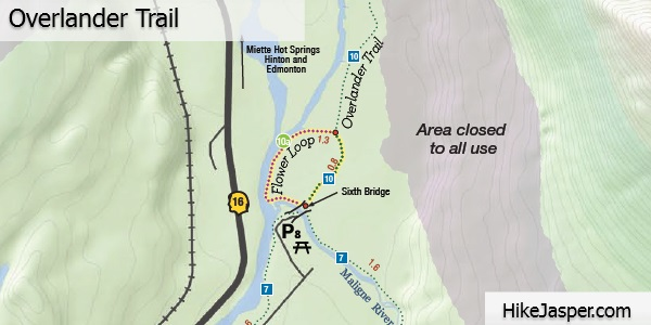 Overlander Trail Map