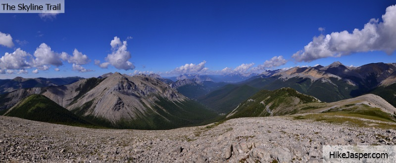 The Skyline Trail in Jasper, Alberta