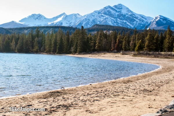 Lake Annette Hike in Jasper, Alberta