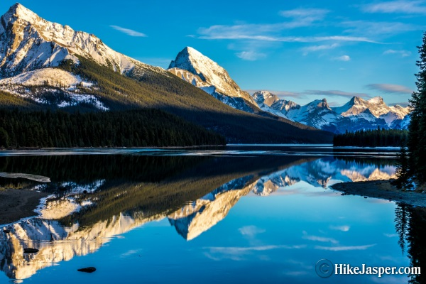 Mary Shaffer Loop at Maligne Lake - Hike Jasper