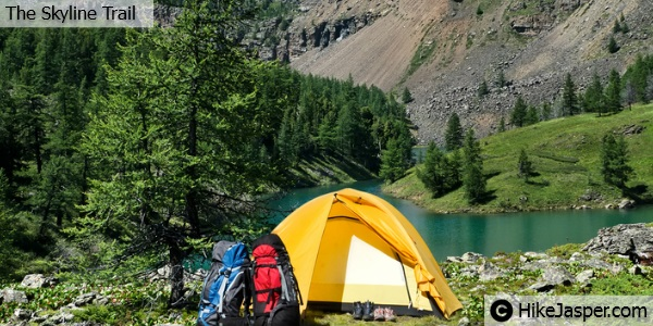 The Skyline Trail Campsites