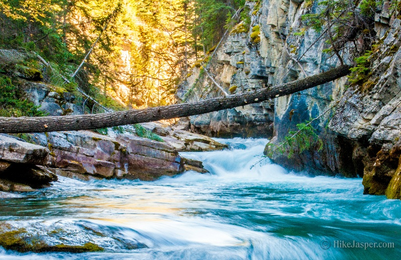 Maligne Canyon and Maligne River