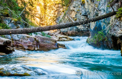 Maligne Canyon and Maligne River 2017