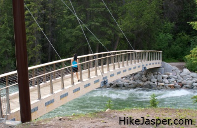 Maligne Canyon's New 5th Bridge