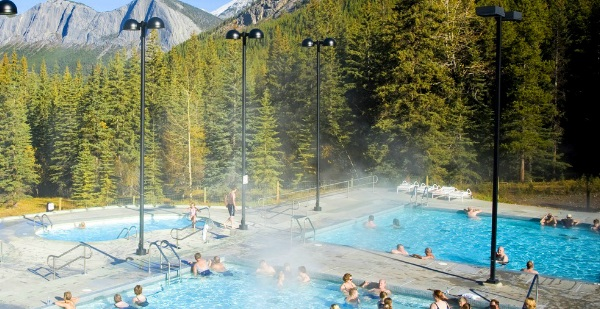 Jasper National Park Miette Hot Springs
