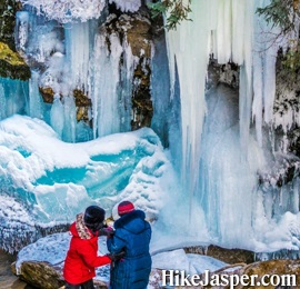 Jasper Maligne Canyon Icewalk Tour