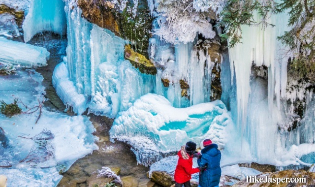 Maligne Canyon Ice Walk 2018-2019
